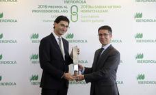 Iberdrola premia a AOC Proyectos por su compromiso con los riesgos laborales