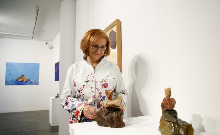 Exposición de Felicia Pérez del Val en La Salina