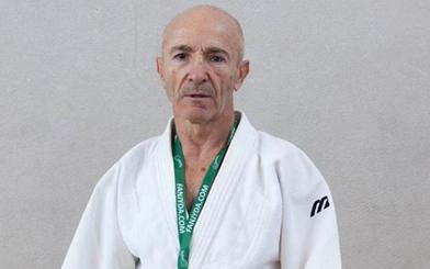 El judoka Julio Vicente Ramos, campeón del mundo de veteranos en Marrakech