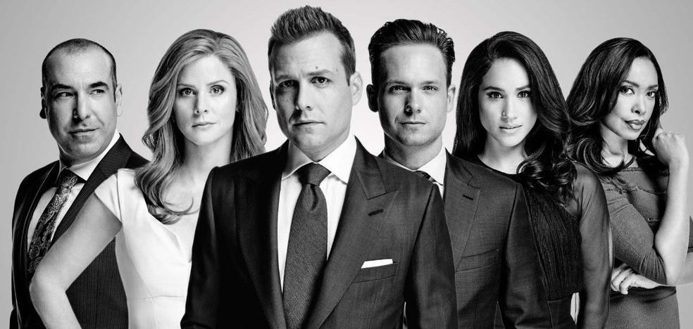 Los compañeros de Meghan Markle en la serie 'Suits' inspiran una firma de ropa española