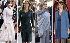 Los looks de la reina Letizia en el Día de la Fiesta Nacional
