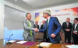La USAL recibe nuevas ayudas para el VIII Centenario gracias al mecenazgo