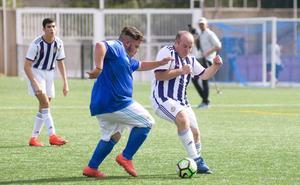 El fútbol inclusivo tiñe de celebración los Anexos del José Zorrilla
