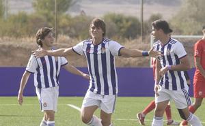 El Real Valladolid Juvenil no da opción y golea al Santa Marta