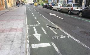 El PSOE tilda de «absurdo» el diseño del carril bici de la calle Alfonso de Castro