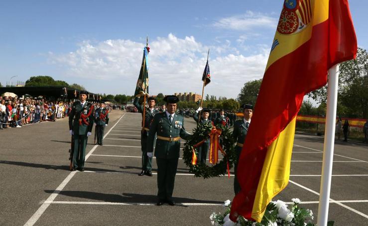 La Guardia Civil de Valladolid celebra su patrona, la Virgen del Pilar