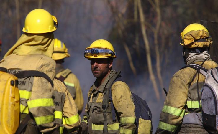 Las imágenes del incendio de Quilós