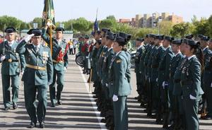 La Guardia Civil honra a su patrona arropada por el calor y el cariño de los vallisoletanos