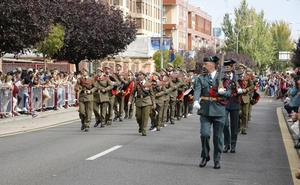 La Guardia Civil celebra su día grande entre el cariño de los palentinos