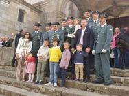 Emotiva fiesta de la Guardia Civil en La Alberca (Salamanca)