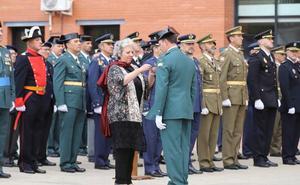 El día de la patrona se convierte en un homenaje a la labor de la Benemérita en Salamanca