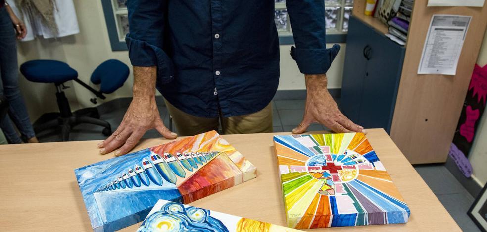 La lucha de Héctor para dejar las drogas: «En vez de 'pillar', me he creado una fantasía de colores»