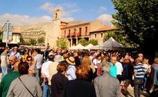 Éxito de público y ventas en la feria de la cebolla de Palenzuela