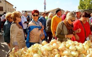 Palenzuela avanza en los trámites para la marca de garantía de la cebolla horcal