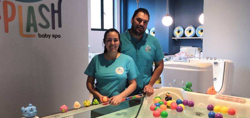 El primer spa para bebés desembarca en Valladolid