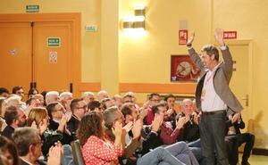 Escarda refuerza la estructura territorial en la provincia para que el PSOE «se abra a la sociedad»