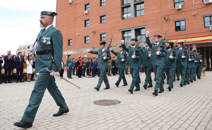 La Guardia Civil de Salamanca honra a su patrona