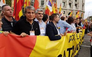 Policarpo Sánchez agradece en Barcelona el apoyo de los catalanes a la unidad del Archivo