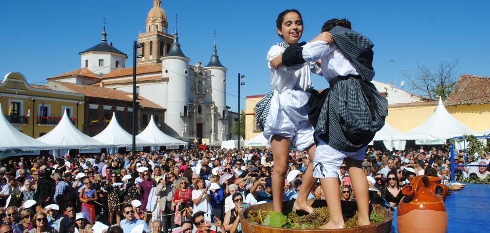 Rueda celebra la vendimia bajo la demanda de ser Ciudad del Vino 2020