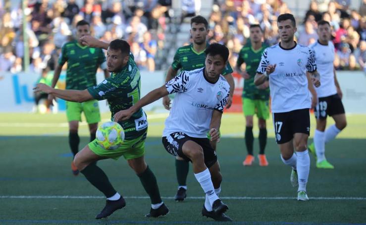 Derbi entre el CD Guijuelo y el Salamanca CF UDS