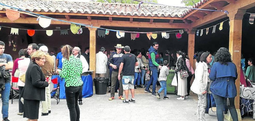 Santervás de Campos cierra el Mercado del Camino de Santiago con récord de visitantes