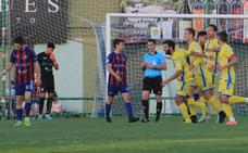 La Segoviana se desploma en cinco minutos ante la Arandina (1-3)