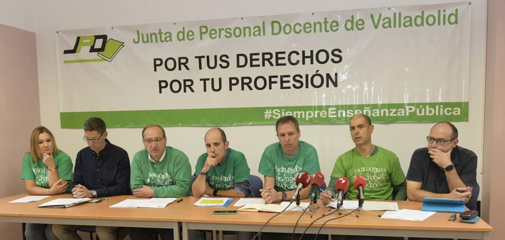 Los profesores de Valladolid piden más recursos humanos y materiales