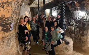 Profesores de diferentes países europeos se acercaron a la cultura del vino en Mucientes
