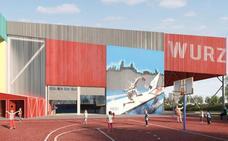 Comienzan las obras para convertir el frontón anexo a Würzburg en un nuevo pabellón deportivo en Salamanca