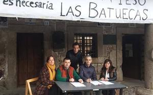 Recogen firmas en La Alberca tras la negativa de ampliar la oferta educativa en el IESO