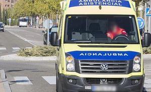 Un joven de 16 años, herido en un atropello en Palencia cuando se desplazaba en patinete
