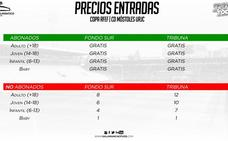 Los abonados del Salamanca CF UDS volverán a entrar gratis en la Copa RFEF ante el Móstoles
