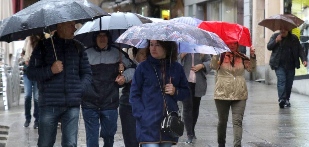 La llegada de las lluvias hace bajar las temperaturas casi 12 grados