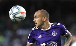 Sandro será baja durante dos semanas en el Real Valladolid