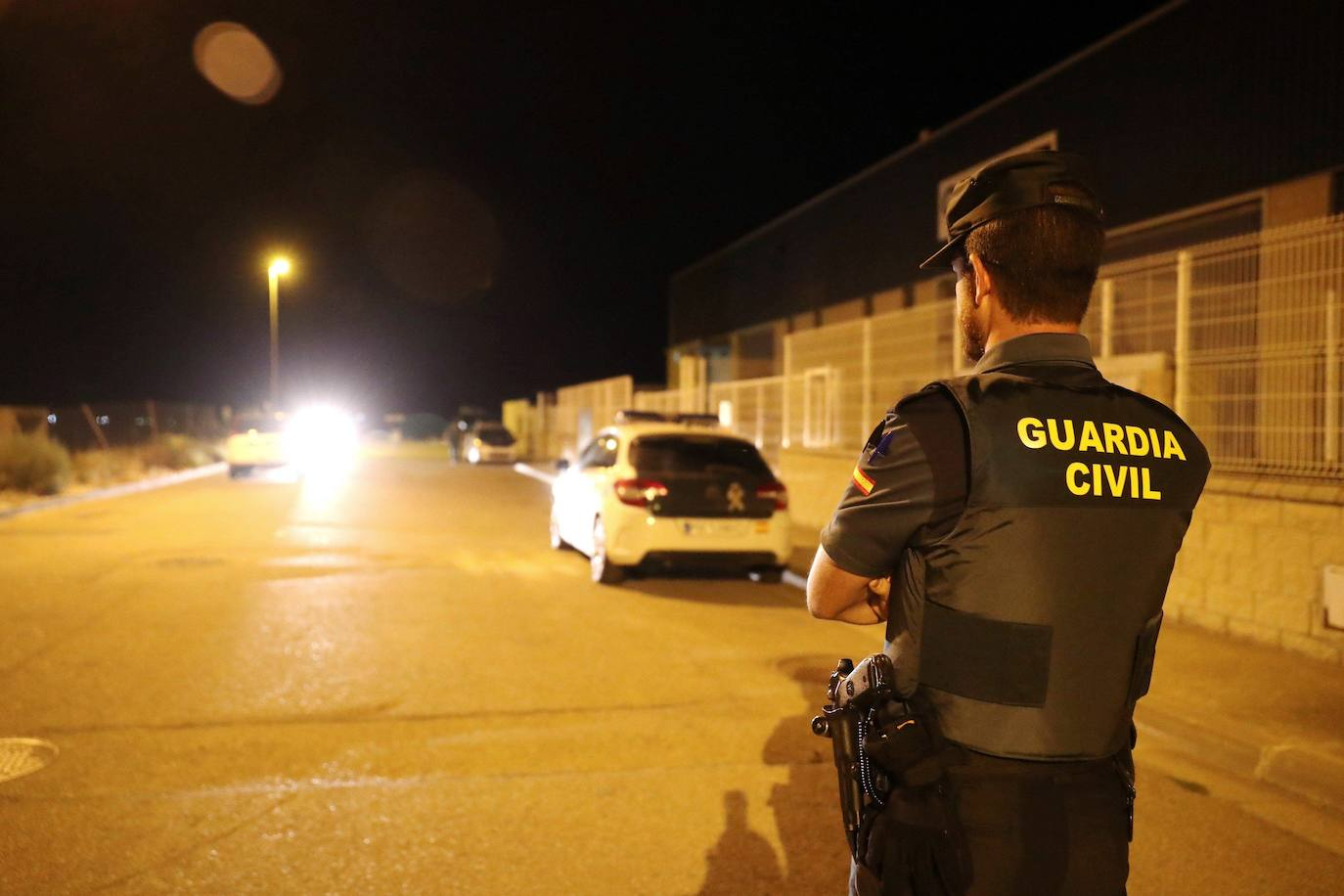 Hieren con arma blanca a un guardia civil en Ávila