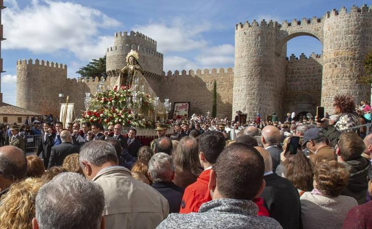 Festividad de Santa Teresa de Jesús en Ávila