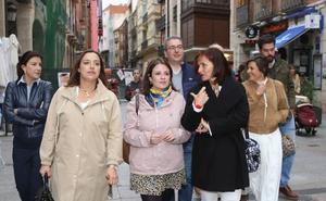 Lastra anima a votar para no repetir el «pacto oculto» entre las derechas en la Junta y en Palencia