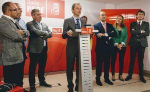 Pedro Duque confía en la las energías renovables como una forma de desarrollo de la provincia de Soria