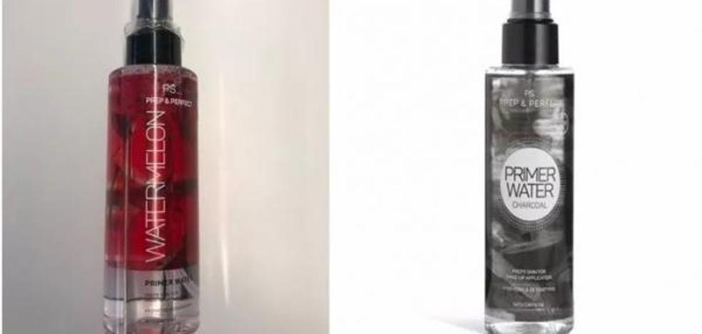 Sanidad informa de la retirada todos los lotes de dos cosméticos del Primark por estar contaminados microbiológicamente