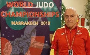 Julio Cereijo, subcampeón mundial de judo de veteranos