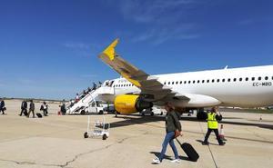 El Aeropuerto de Valladolid roza los 200.000 pasajeros, un 4,1% más