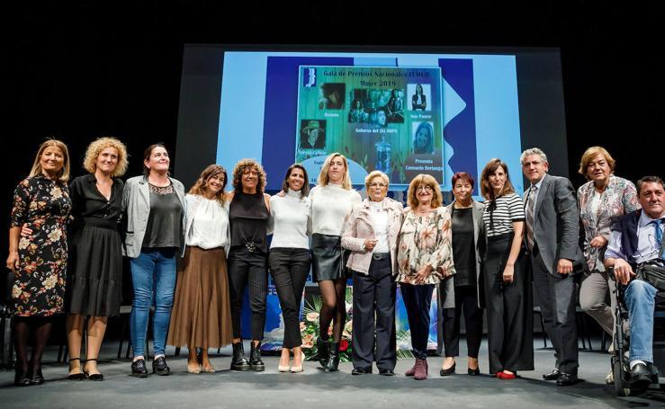 Entrega de premios Femur en el teatro Juan Bravo