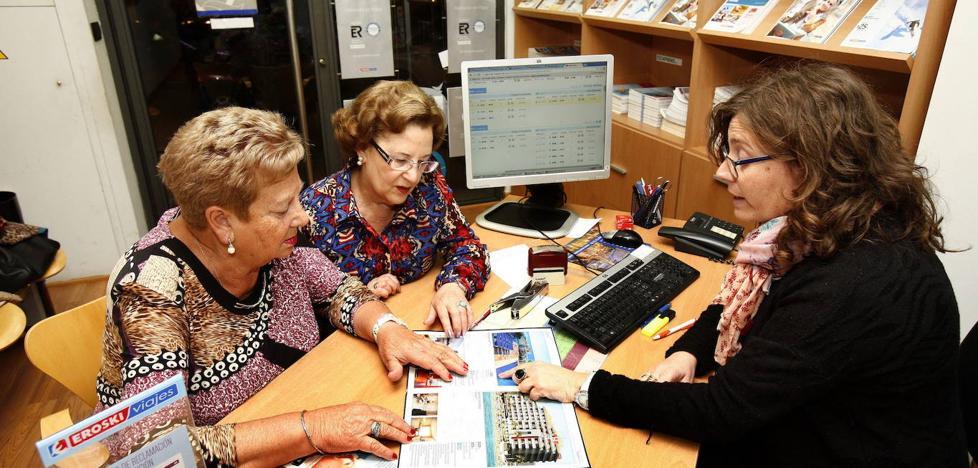 Las reservas de viajes del Imserso a Cataluña, en mínimos por los disturbios