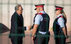 Las cargas de los Mossos dividen al Govern