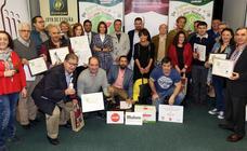 Entrega de premios del concurso provincial de tapas