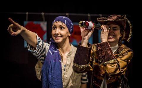 Ligre Teatro debuta con su primer montaje 'Las aventuras de Colón'