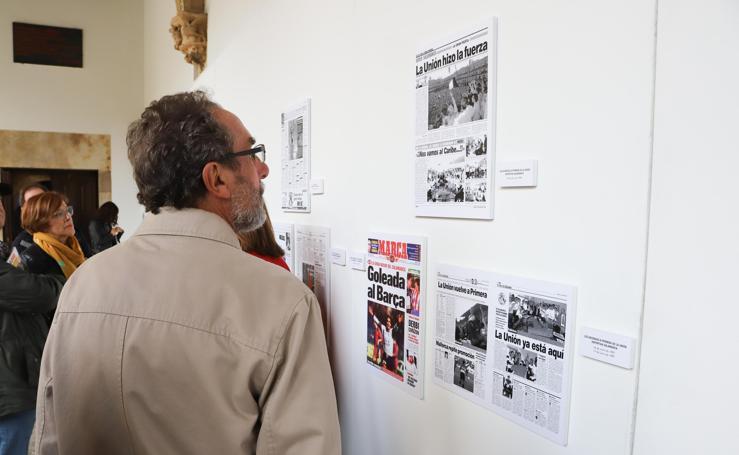 Exposición dseporte salmantino portadas Marca Fonseca