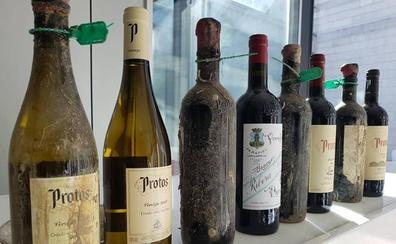 Protos aprecia matices diferentes en vinos sumergidos durante seis meses en el mar Mediterráneo