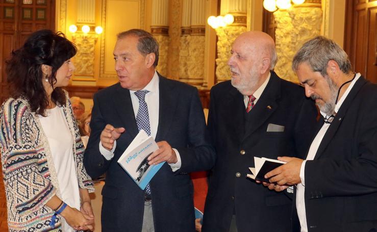 Presentación del libro 'Las ferias de antaño' del periodista José Miguel Ortega, en el Aula de Cultura del Norte de Castilla