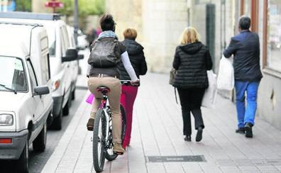 Calles a 30 y patinetes y bicicletas por la calzada para garantizar la movilidad en Palencia